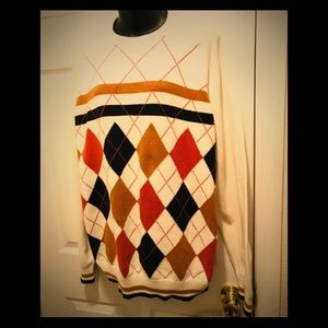 ⭐️AUTH MENS SEAN JOHN ARGILE SWEATER ⭐️SZ L